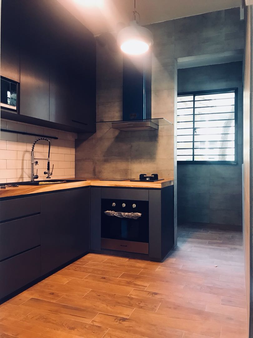 Hdb Kitchen Renovation Home Services Renovations On Carousell