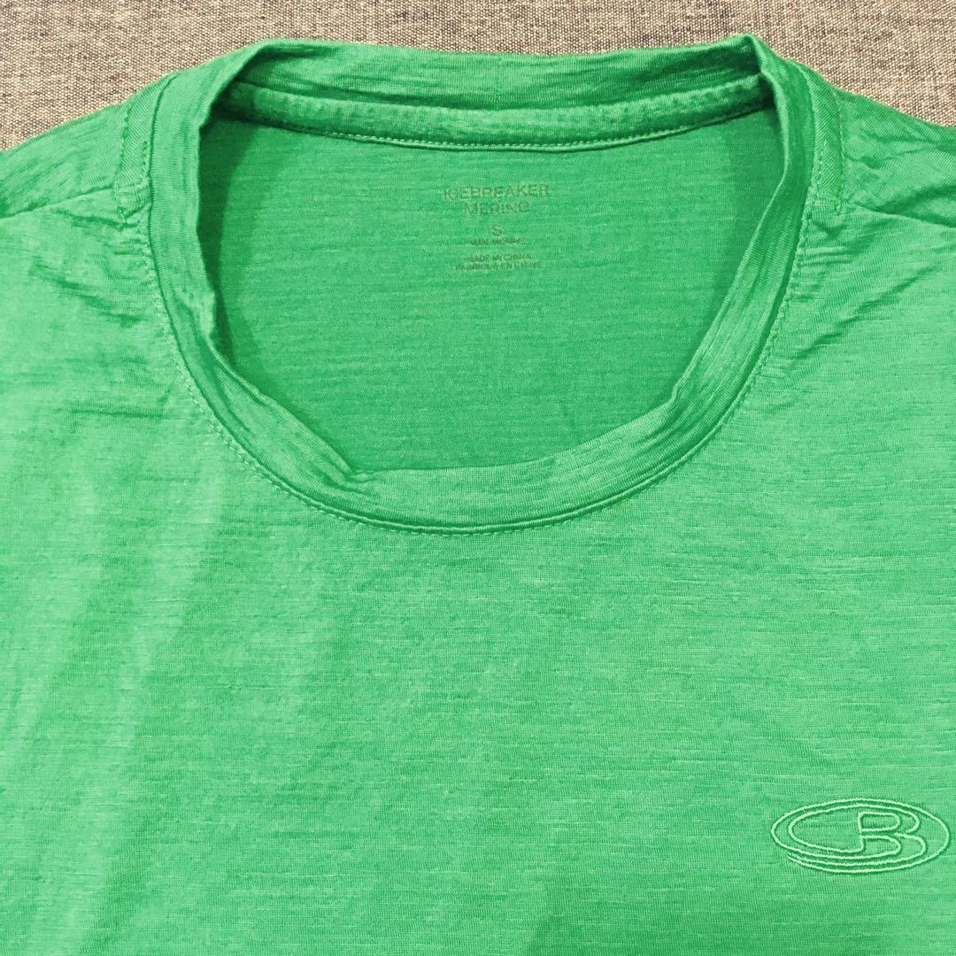 17ee0c0e723 Icebreaker Merino Men's Tech Lite Short Sleeve Crewe (Green, US size ...