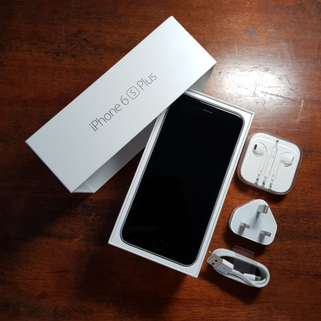 iPhone 6S Plus Space Gray 128GB MY fullest