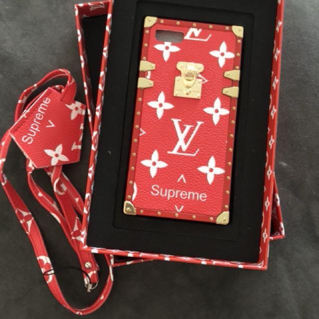 Lv x supreme iPhone 7/8 case
