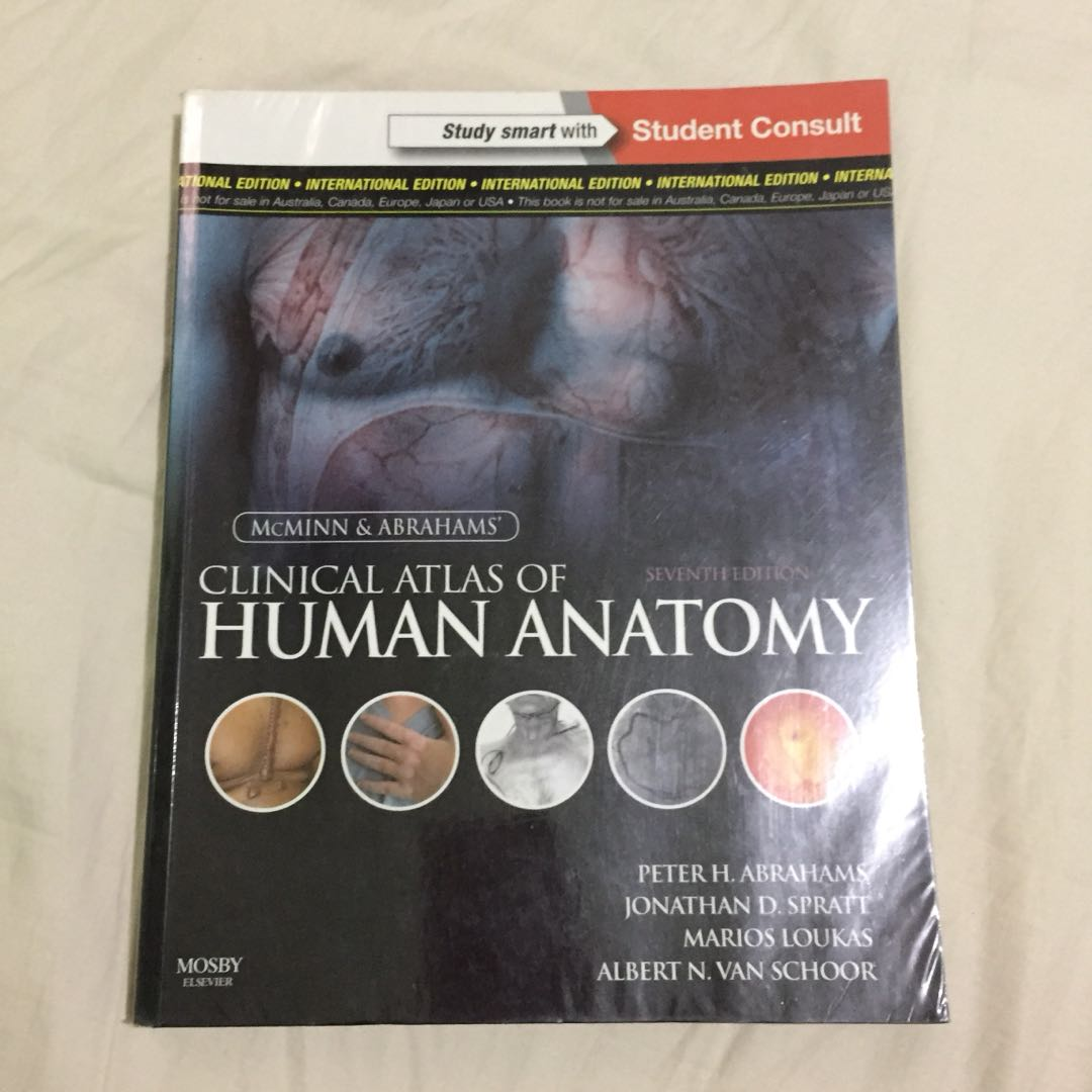 Mcminns Clinical Atlas Of Human Anatomy Textbooks On Carousell