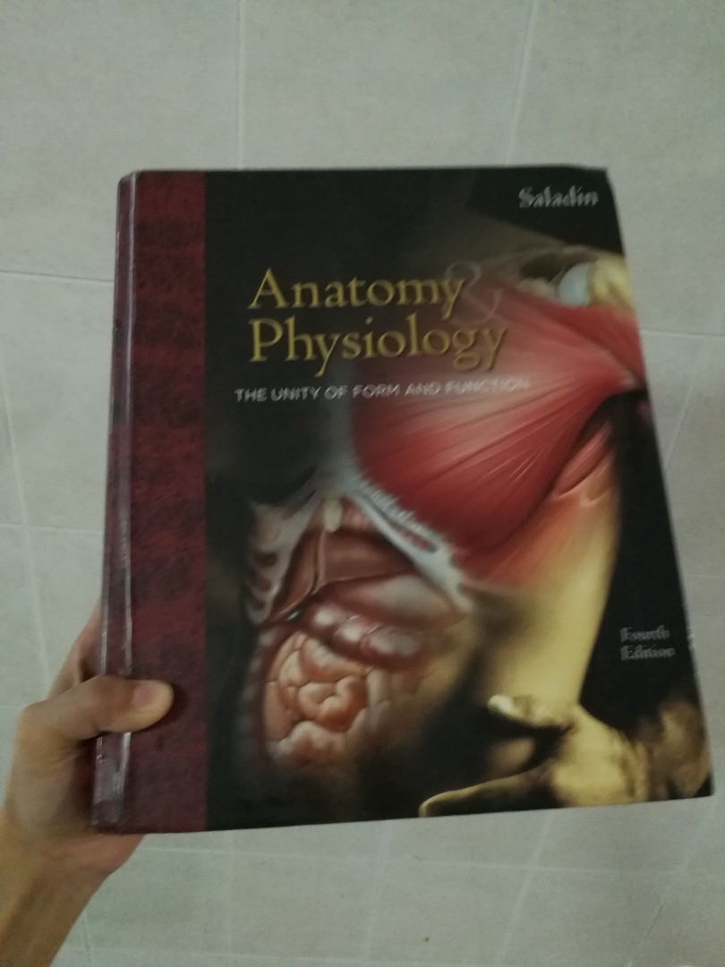 Medical book - Saladin anatomy and physiology, Books & Stationery ...