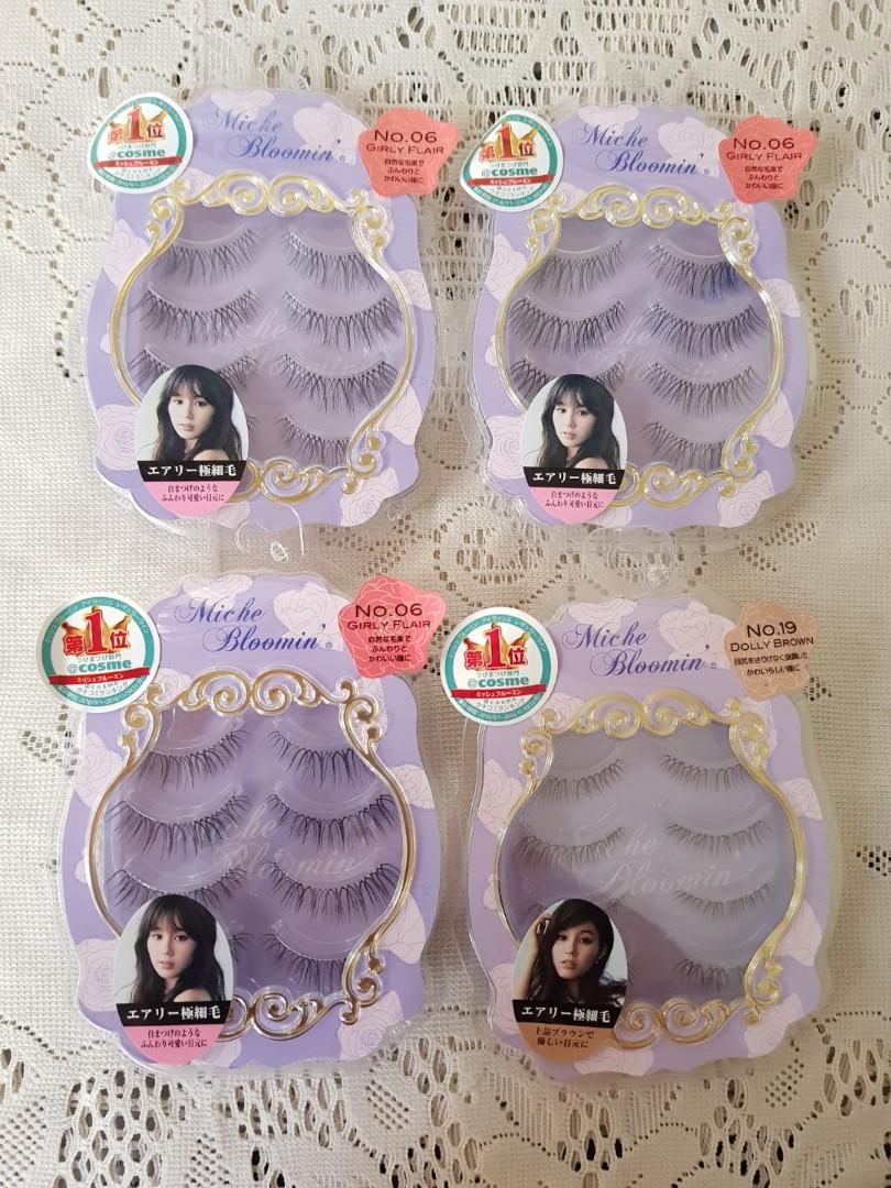 7815c517e49 Miche Bloomin Eyelash, Health & Beauty, Makeup on Carousell