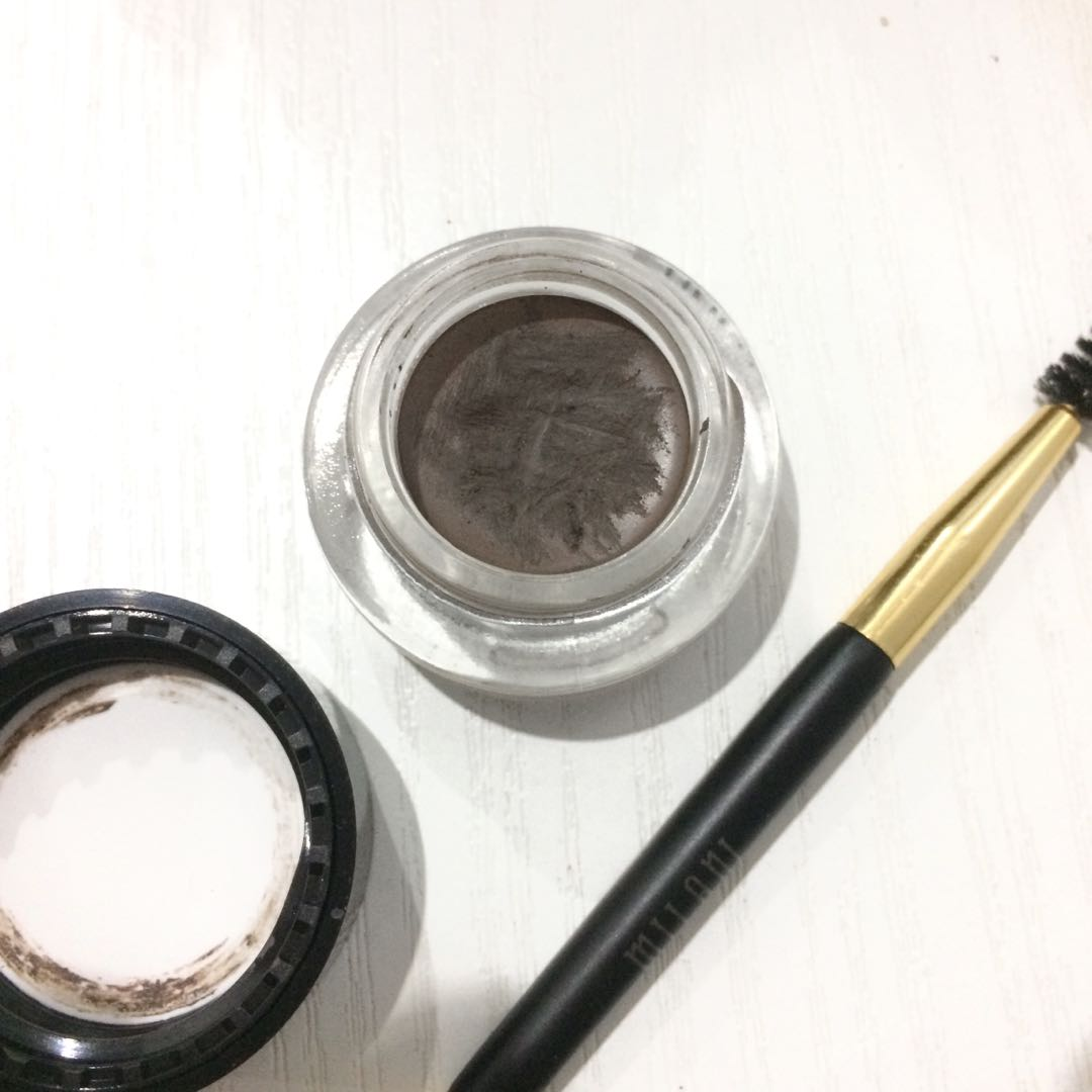 MILANI STAY PUT BROW COLOR (POMADE) + WITH BRUSH