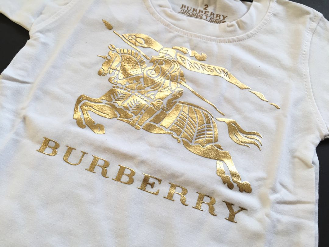 New Baju Kaos Anak Bayi Burberry Babies Kids Apparel On Jeans By Henni Collection Carousell