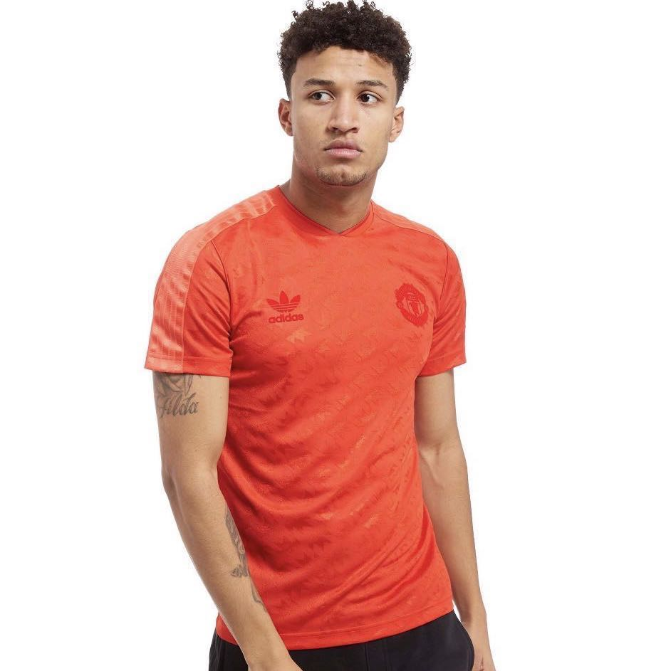6f15eaee2f7fac New With Tag ADIDAS ORIGINALS MANCHESTER UNITED Retro Jersey Tee ...