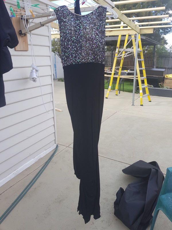 Nicole bakti evening dress size 6-8