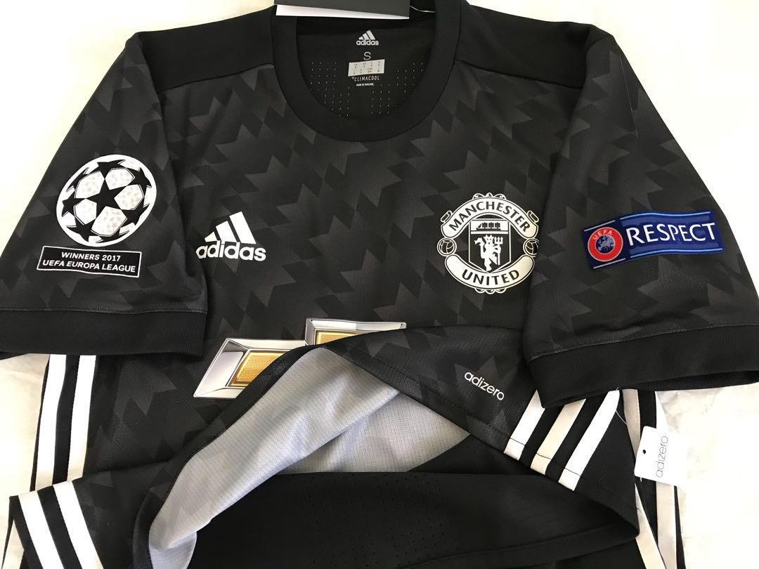 Official Authentic ADIDAS Adizero Manchester United 2017-2018 Away ... bed3b9f2a