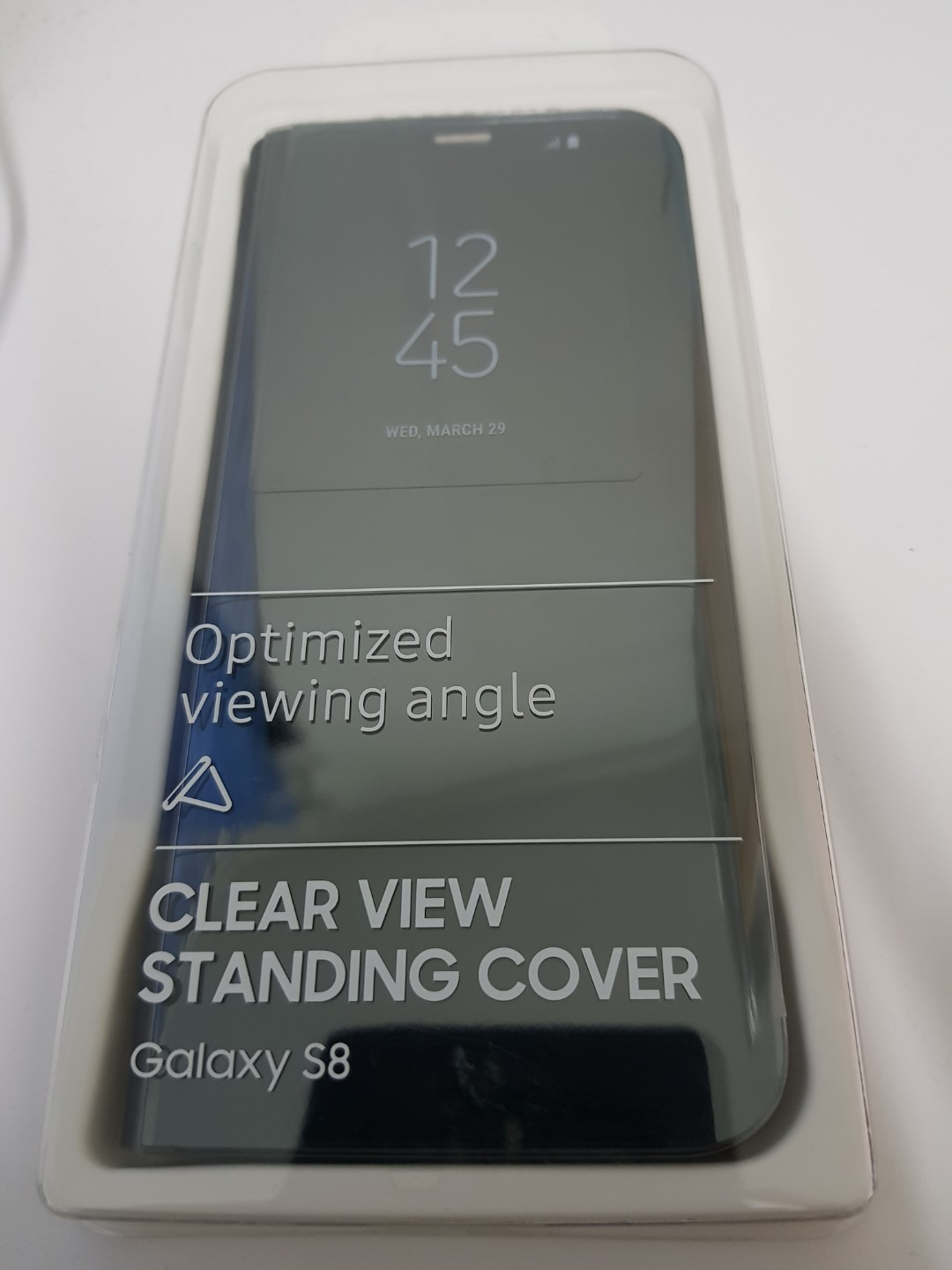 official photos 3e0b1 dabde Original Samsung Galaxy S8 Clear View Standing Cover