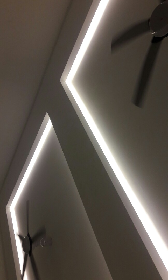 Plaster Ceiling Light Box Services
