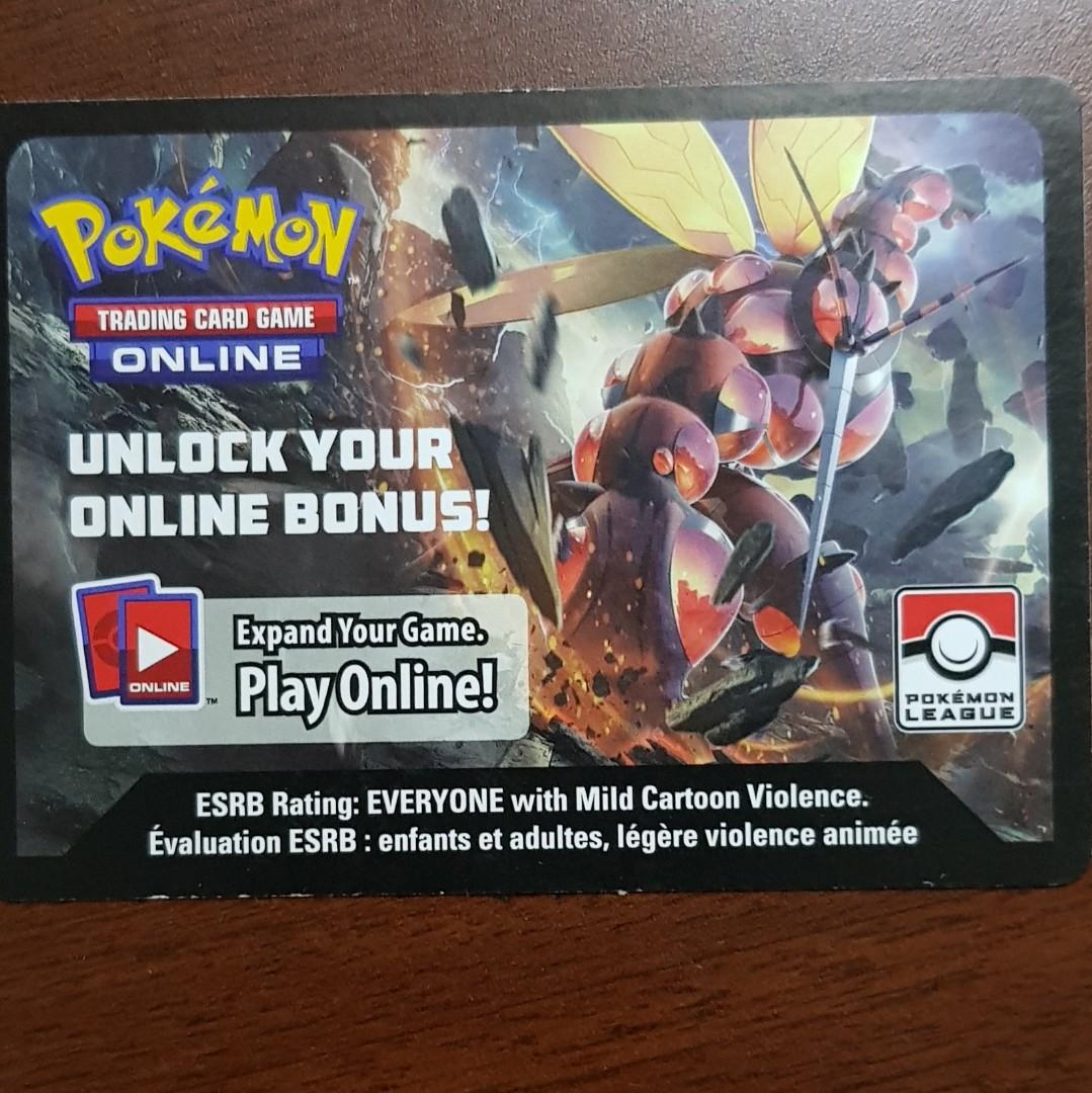 Regirock Code Card Pokemon TCG Online SM4 League Season 2