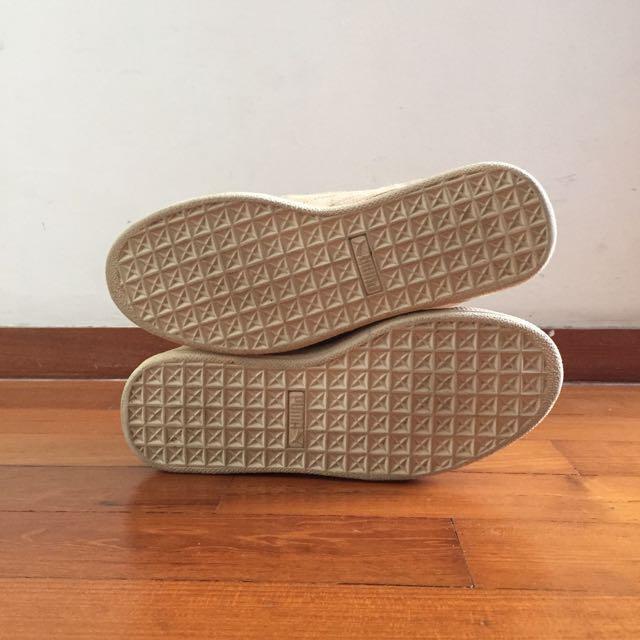 PUMA Suede Baskets (SAND) UK 4 / EUR 37