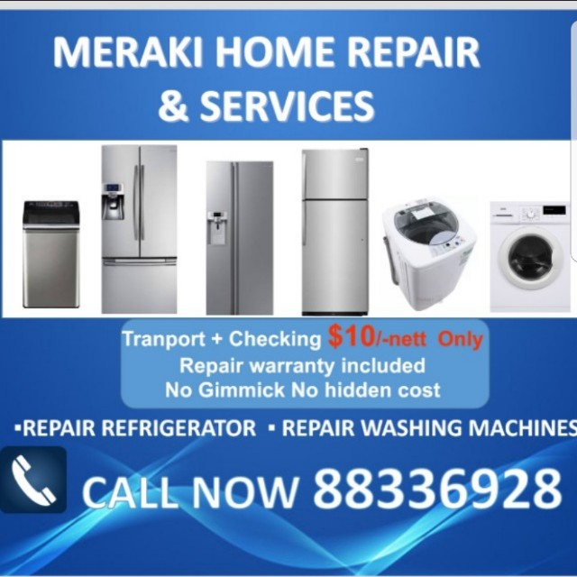 Repair refrigerator,washing machine and fridge