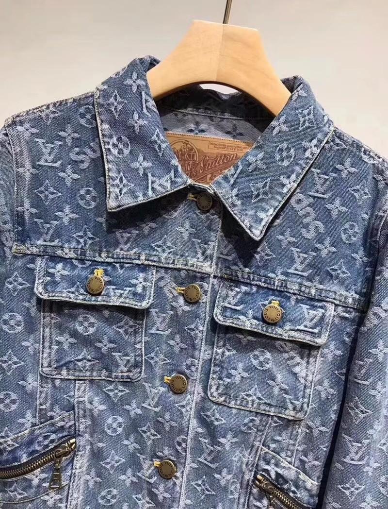1d10234c69c Supreme x LV Denim Jacket