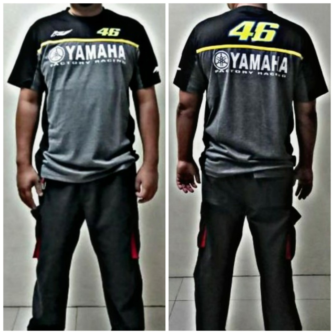 T Shirt Yamaha Motorbikes Motorbike Accessories On Carousell New Cb150r Black