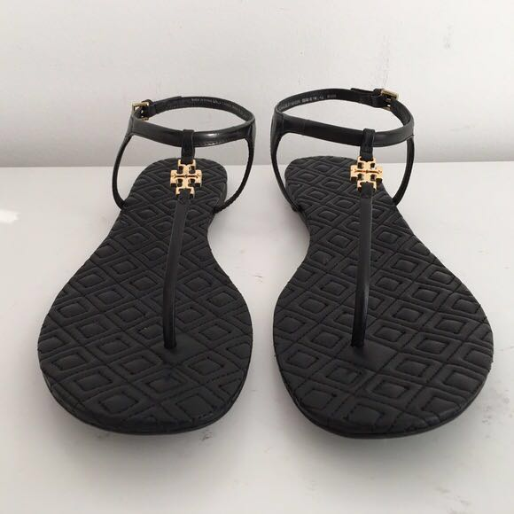 75c7cf51a7a69 TORY BURCH Marion Quilted Sandal - Black
