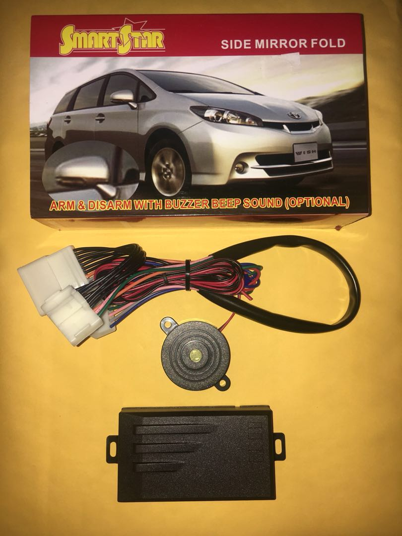 Toyota side mirror auto fold module, Car Accessories on Carousell