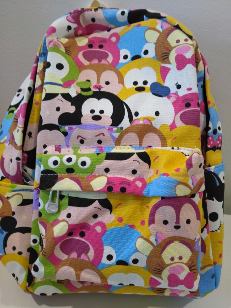 7a69fcf6b4 Disney Tsum Tsum Toddler Backpack
