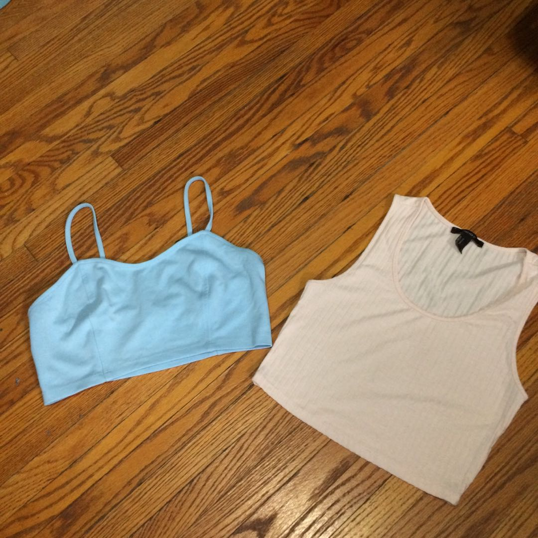 Two crop tops for $5