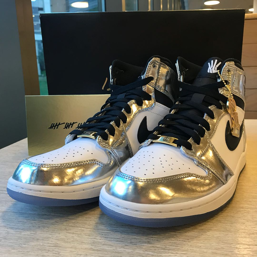 online store e12ab 88df9 US9* Air Jordan 1 Pass The Torch Kawhi Leonard, Men's ...