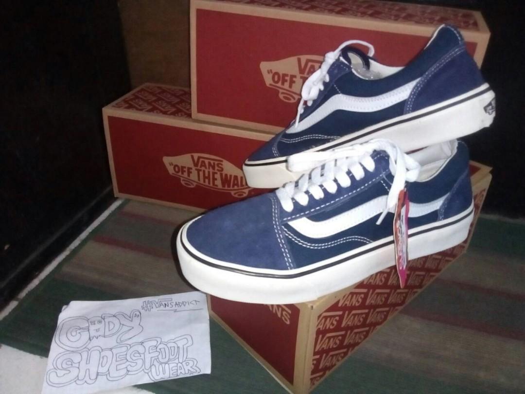 Vans Old Skool Navy blue 8b35273178