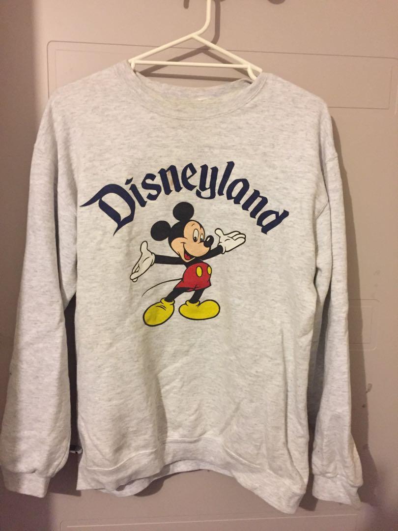 VINTAGE oversized Disney jumper