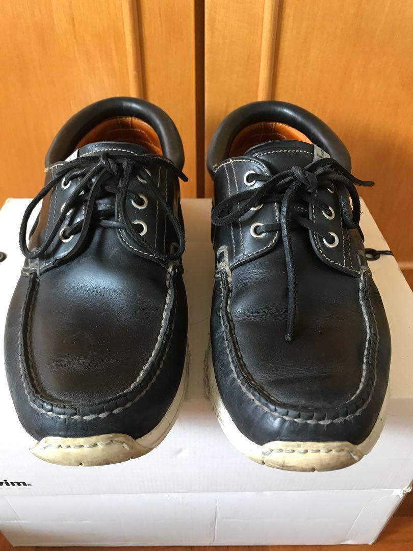 Visvim American Deck Folk Moccasins boat shoes Sz 11 ce7988b25