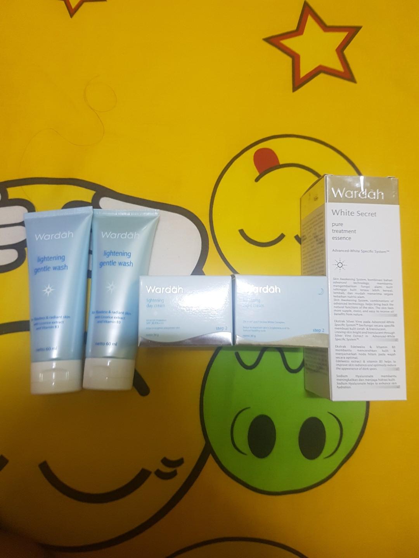 Baru New Segel Wardah Lightening White Secret Health Beauty Grntle Wash Skin Bath Body On Carousell