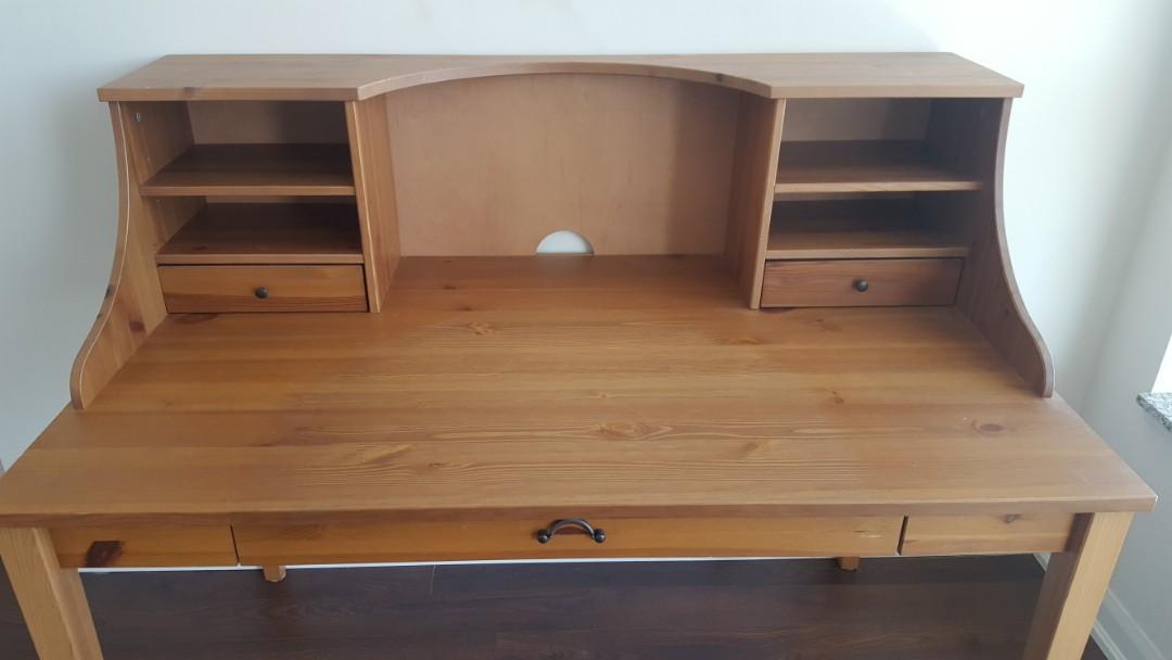 Wooden IKEA Desk