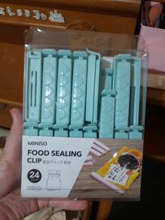 Miniso Food Sealing Clip [SHORT ONLY]
