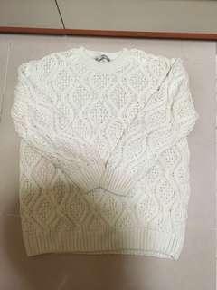 ZARA 淺薄荷色冷衫