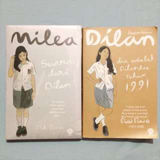 Novel Dilan 1991 & Milea