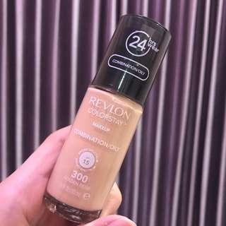Brand New Revlon Colorstay Foundation 300 Golden Beige