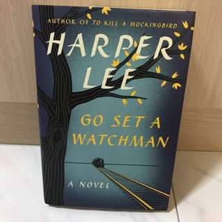(SALE) Go set a watchman