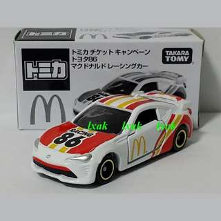 Tomica #086-8 Toyota 86 AE86 2017 Japan Exclusive Not For Sale