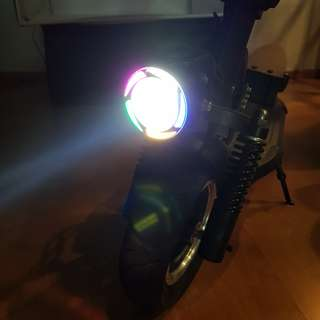 E-Scooter 5 Colors Angel Light