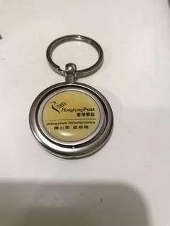 郵政署營運基金10周年鎖匙扣一個