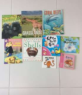 Preloved - Assorted Children Books
