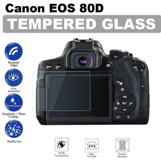 Canon EOS 70D 80D Tempered Glass Screen Protector