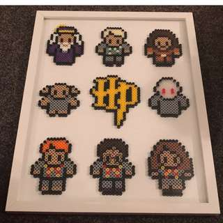 Harry Potter Hama Bead Designs With Photoframe