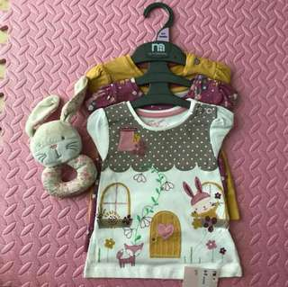 Mothercare set of 3 (6-9m)