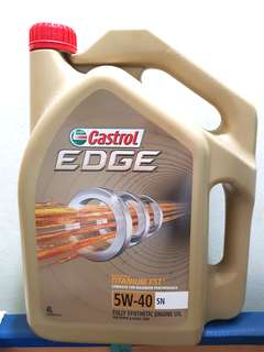 [FREE Oil Filter] + Castrol Edge Engine Oil