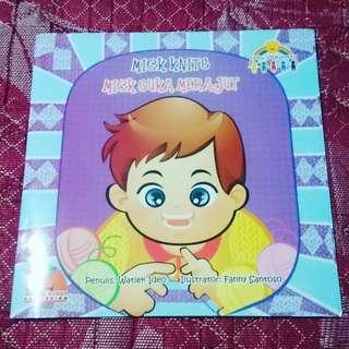 Softcover buku anak