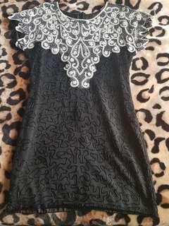 Beaded (Flapper) Dress. Size