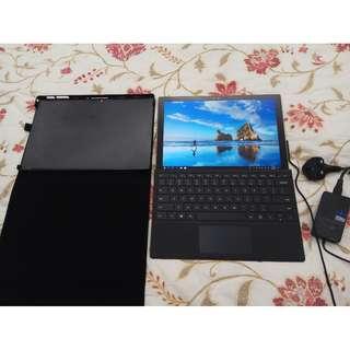 Microsoft Surface Pro 4 i5/256gb/8gb 有官方原廠keyboard 機套