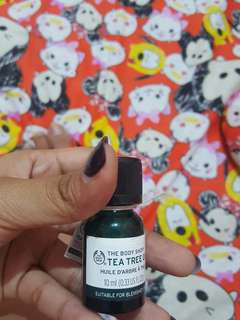 Tea tree body shop