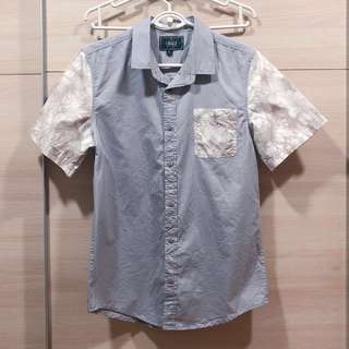 MEN K BRAND CO Grey Shirt