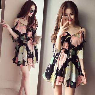Floral Dress (For Plus size too)