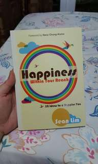 SELF HELP BOOK Happiness Within Your Reach.