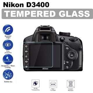 Nikon D3400 Tempered Glass Screen Protector